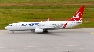 TC-JGC - Boeing 737-8F2 - Turkish Airlines