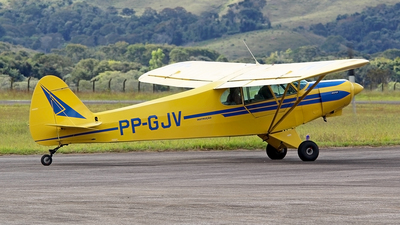 PP-GJV - Piper PA-18 Super Cub - Aeroclub De Guaratingueta