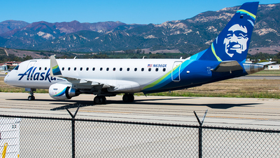 N636QX - Embraer 170-200LR - Alaska Airlines (Horizon Air)