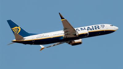 EI-HGP - Boeing 737-8-200 MAX - Ryanair