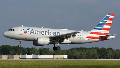 A picture of N749US - Airbus A319112 - American Airlines - © DJ Reed - OPShots Photo Team