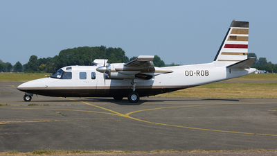 OO-ROB - Rockwell 690B Turbo Commander - Private