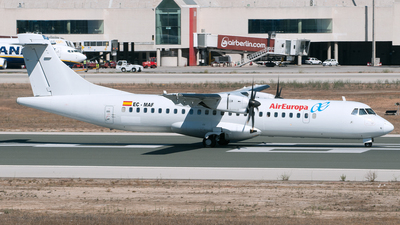 EC-MAF - ATR 72-212A(500) - Air Europa (Swiftair)