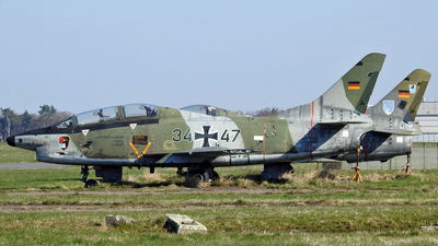 34-47 - Fiat G91-T/3 - Germany - Air Force