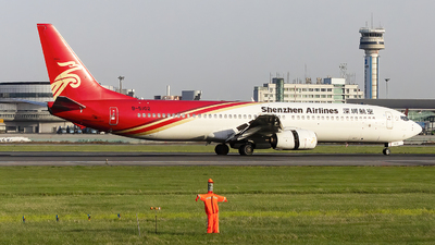 A picture of B5102 - Boeing 73797L - Shenzhen Airlines - © Minizyi