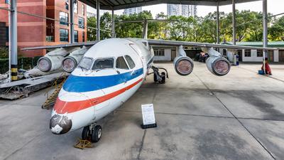 B-2702 - British Aerospace BAe 146-100 - China Northwest Airlines