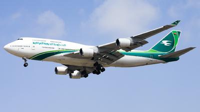 YI-AQQ - Boeing 747-446 - Iraqi Airways