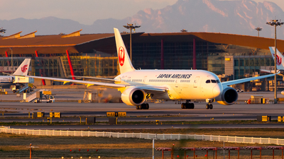 JA830J - Boeing 787-8 Dreamliner - Japan Airlines (JAL)