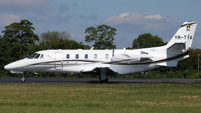 YR-TYA - Cessna 560XL Citation XLS Plus - Toyo Aviation