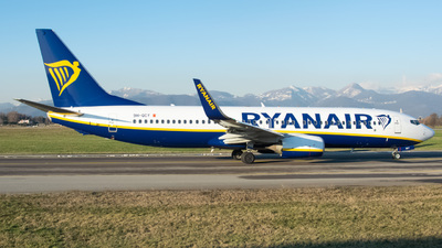 A picture of 9HQCY - Boeing 7378AS - Ryanair - © Fabio Pozzessere