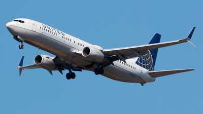 A picture of N39418 - Boeing 737924(ER) - United Airlines - © Luis Portillo