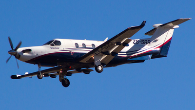 ZS-SRR - Pilatus PC-12/45 - Private