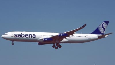 OO-SCY - Airbus A340-311 - Sabena