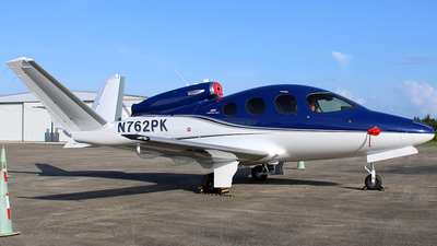 N762PK - Cirrus Vision SF50 G2 - Private