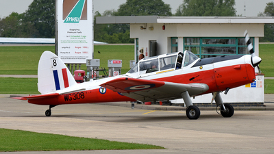 G-BYHL - De Havilland Canada DHC-1 Chipmunk T.10 - Private