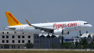 A picture of TCNCS - Airbus A320251N - Pegasus Airlines - © Kayra D.