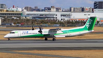 JA857A - Bombardier Dash 8-Q402 - ANA Wings