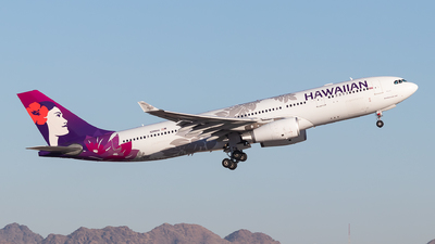 A picture of N380HA - Airbus A330243 - Hawaiian Airlines - © Anthony Cistolo