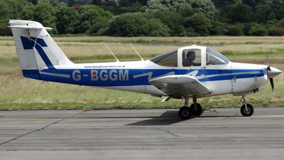G-BGGM - Piper PA-38-112 Tomahawk - Flying Fox Aviation