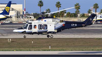 CP-8 - Agusta-Westland AW-139 - Cyprus - Police