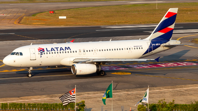 PR-MBA - Airbus A320-232 - LATAM Airlines