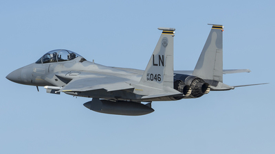 84-0046 - McDonnell Douglas F-15D Eagle - United States - US Air Force (USAF)