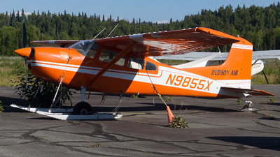 N9855X - Cessna 185 Skywagon - Hudson Air