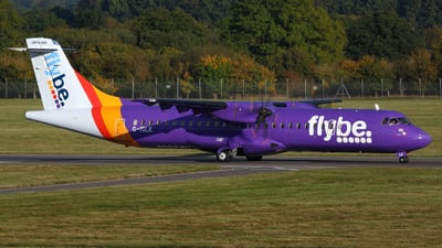 G-ISLK - ATR 72-212A(500) - Flybe (Blue Islands)