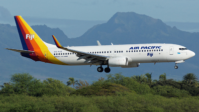 DQ-FJG - Boeing 737-8X2 - Air Pacific