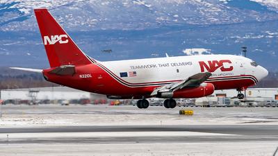 N321DL - Boeing 737-232(Adv)(F) - Northern Air Cargo (NAC)