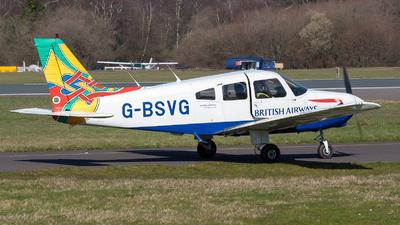 G-BSVG - Piper PA-28-161 Warrior II - British Airways Flying Club