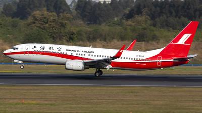 B-5395 - Boeing 737-86D - Shanghai Airlines
