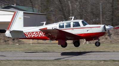 N9590M - Mooney M20F - Private