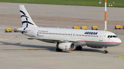 A picture of SXDVJ - Airbus A320232 - Aegean Airlines - © Justin Stöckel