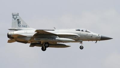 12-142 - Pakistan JF-17 Thunder - Pakistan - Air Force