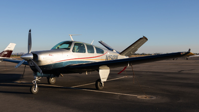 N1548W - Beechcraft V35B Bonanza - Private