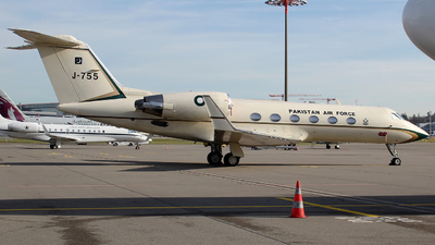 J-755 - Gulfstream G-IV(SP) - Pakistan - Air Force