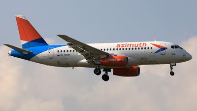 A picture of RA89036 - Sukhoi Superjet 10095LR - Azimuth - © Eddie Heisterkamp