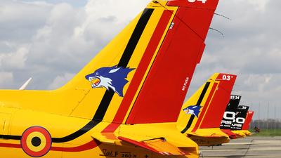 ST-04 - SIAI-Marchetti SF260M - Belgium - Air Force