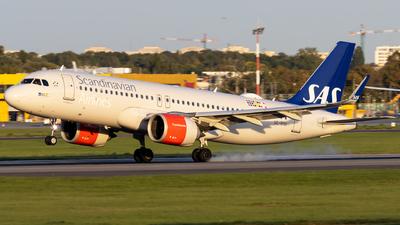 A picture of SEROD - Airbus A320251N - SAS - © Grzesiek Krupa