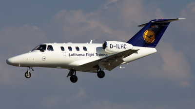 D-ILHC - Cessna 525 CitationJet 1 Plus - Lufthansa Flight Training