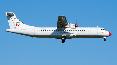 OY-RUD - ATR 72-201 - Danish Air Transport (DAT)