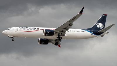 XA-MAZ - Boeing 737-9 MAX - Aeromexico
