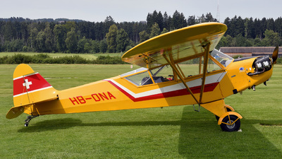 A picture of HBONA - Piper J3C65 Cub - [12867] - © Mirko Bleuer