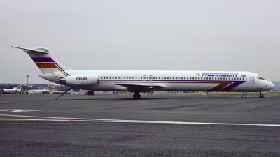 G-PATA - McDonnell Douglas MD-83 - Paramount Airways