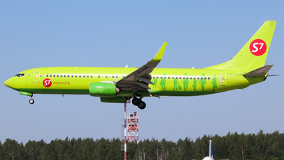 A picture of VQBVM - Boeing 7378GJ - S7 Airlines - © Vitaly Revyakin