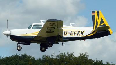 D-EFKK - Mooney M20F Executive 21 - Private