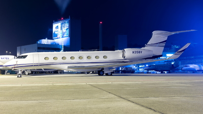 N358V - Gulfstream G650ER - Private