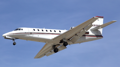 N317QS - Cessna 680 Citation Sovereign - NetJets Aviation