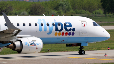 G-FBEH - Embraer 190-200LR - Flybe (Stobart Air)